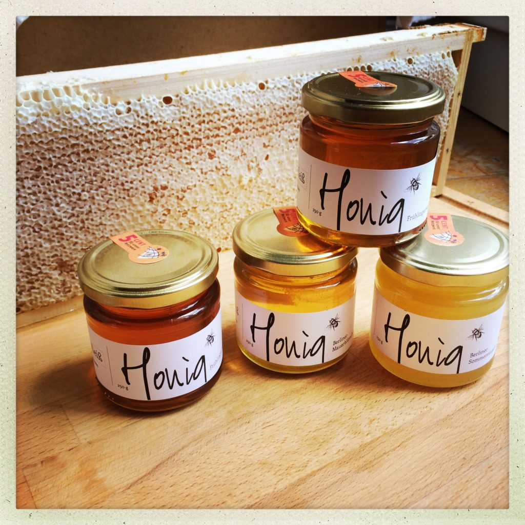 Honigvielfalt der Imkerei Mädelfleiß